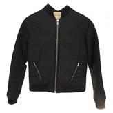 American Vintage Black Leather Jacket for Women