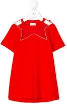 Elisabetta Franchi La Mia Bambina star neckline T-shirt