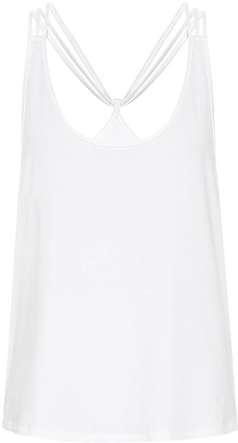 Lanston Dunes stretch-jersey top