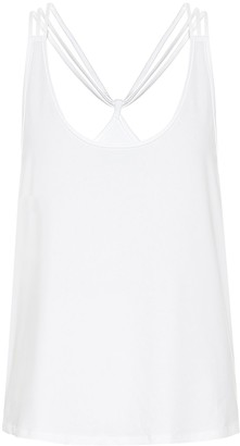 Lanston Dunes stretch-jersey top
