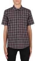 Volcom Boy's Amerson Plaid Woven Shirt