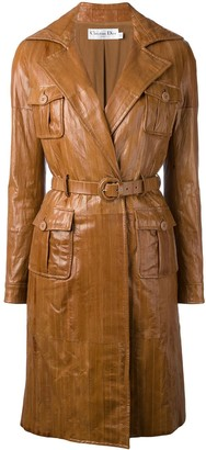 Christian Dior Pre-Owned Panelled Coat