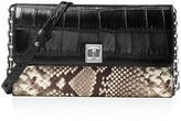 MICHAEL Michael Kors Natalie Extra Large Embossed Wallet On A Chain Crossbody