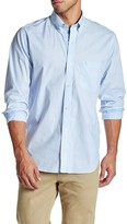 Tailorbyrd Hairline Stripe Long Sleeve Shirt