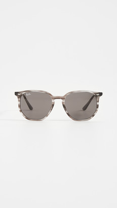 Ray-Ban 54 Highstreet Hexagonal Sunglasses