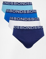 Bonds 4 Pack Briefs - Multi