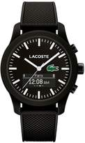 Lacoste 2.12 Contact Smart Black Dial Silicone Strap Smartwatch