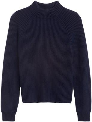 Banana Republic Cashmere Mock-Neck Sweater