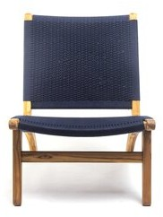 """Thumbnail for your product : Masaya & Co 24"""" Wide Side Chair"""