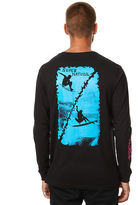 RVCA Super Natural Ls Mens Tee Black