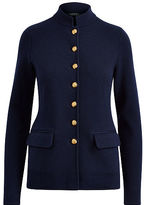 Ralph Lauren Stretch Cotton Military Jacket