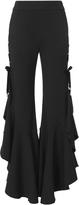 Jonathan Simkhai Grommet Ruffle Pants