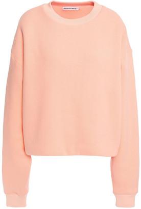 alexanderwang.t French Cotton-blend Terry Sweatshirt