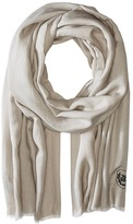 The Kooples Cotton Crest Scarf