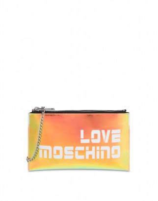 Love Moschino Iridescent Clutch