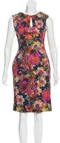 Erdem Floral Printed Sheath Dress