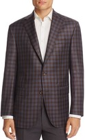 Jack Victor Gingham Plaid Classic Fit Sport Coat