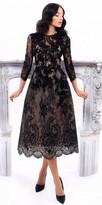 Tarik Ediz Mimosa Evening Dress