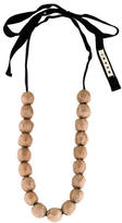 Marni Wrapped Bead Necklace