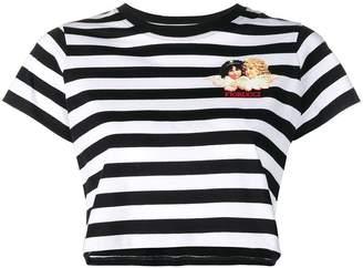 Fiorucci striped logo T-shirt