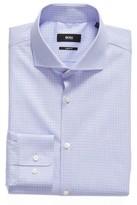 BOSS Men's Mark Sharp Fit Check Dress Shirt