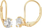 Swarovski Renaissance Collection 10k Gold 1-ct. T.W. Drop Earrings - Made with Zirconia