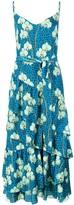 Borgo de Nor animal floral print dress