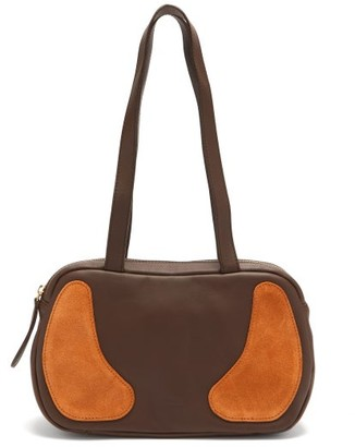 Gabriel For Sach - Decerio Xs Leather And Suede Shoulder Bag - Brown Multi