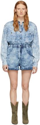 Etoile Isabel Marant Blue Denim Itea Shorts