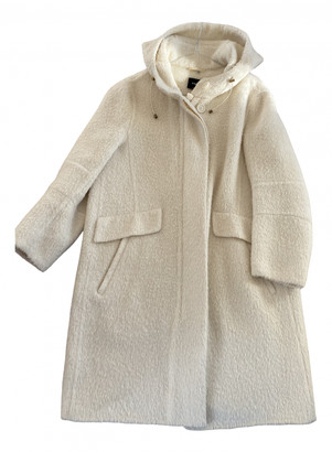 Akris White Wool Coats