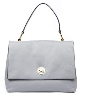 Coccinelle Liya Grey Leather Tote