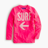 J.Crew Girls' surf swim rash guard