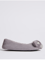 M&S Collection Ballerina Slippers