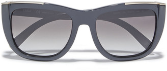 Chloé Dallia D-frame Acetate Sunglasses