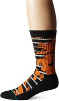 Stance Men's Maui St Nick Hawaiian Print Holiday Arch Support Classic Crew Sock