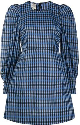 Baum und Pferdgarten Aidine puff sleeve mini dress