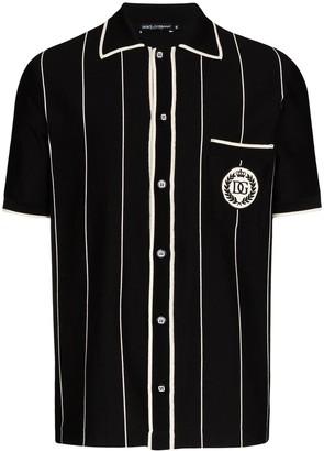 Dolce & Gabbana Striped Polo Shirt