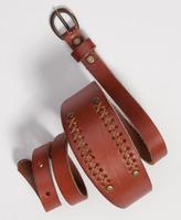 Levi's Leather Tunic Belt