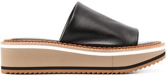 Clergerie Slip-On Platform Sandals