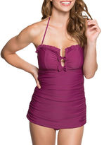 Betsey Johnson Malibu Solid Swimdress