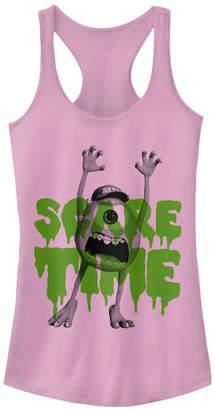 Fifth Sun Disney Pixar Women Monsters Inc. Mike Scare Time Racerback Tank Top