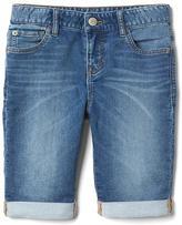 Gap Supersoft denim bermuda shorts