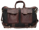 Will Leather Goods Men's Traveler Duffel Bag - Black