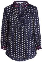 Libelula Delphine Top Mottled Star Print