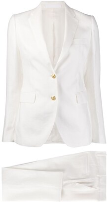 Tagliatore Slim-Fit Pant Suit
