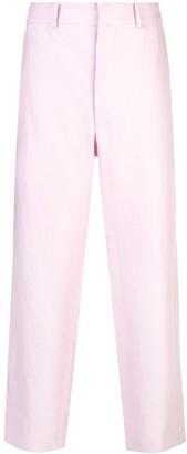 Sankuanz cropped linen trousers
