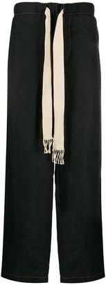Loewe Oversized Drawstring Wide Track Pants