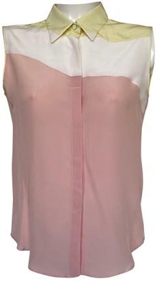 Aquilano Rimondi Pink Silk Top for Women