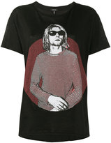 R 13 Kurt Cobain T-shirt - women - Cotton/Cashmere - S