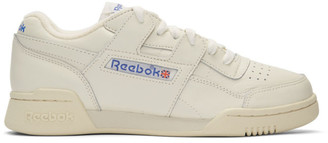 Reebok Classics White Workout Plus 1987 TV Sneakers